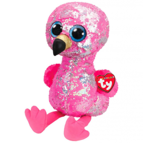 PINKY SEQUIN FLAMINGO FLIPPABLES
