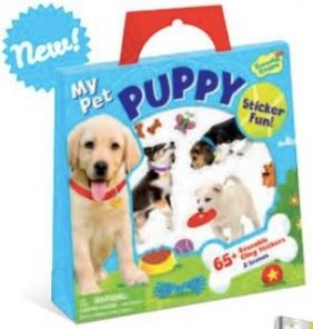 MY PET PUPPY STICKER FUN! SET