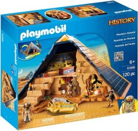 PHARAOH'S PYRAMID-HISTORY SET