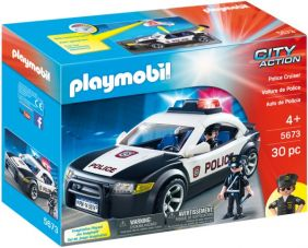 POLICE CRUISER-CITY ACTION SET