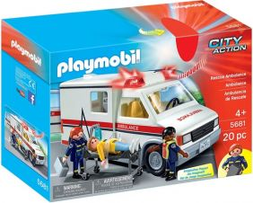 RESCUE AMBULANCE-CITY ACTION