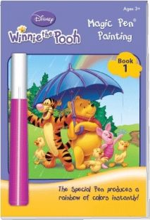 WINNIE THE POOH MAGIC PEN PAINT BOOK #2