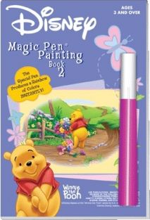 WINNIE THE POOH MAGIC PEN PAINT BOOK #1