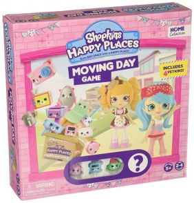 SHOPKINS MOVING DAY GAME #4090