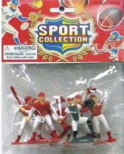 BASEBALL ACTION FIGURE SET #10