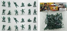 1/32 WWII US INFANTRY FIGURES