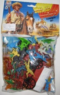 1/32 WILD WEST COWBOYS BAGGED