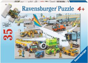 BUSY AIRPORT 35-PIECE PUZZLE
