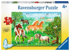 MUSTANG MEADOW 60-PC PUZZLE