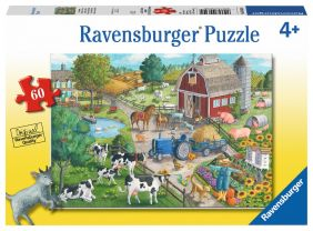 HOME ON THE RANGE 60-PC PUZZLE