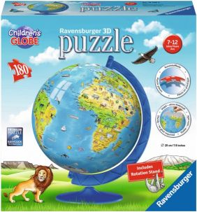 CHILDREN'S GLOBE 180-PC 3D