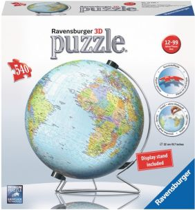 THE EARTH 540-PIECE 3D PUZZLE