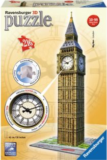 BIG BEN 316-PIECE 3D PUZZLE WI