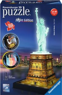 STATUE OF LIBERTY 108-PC 3D