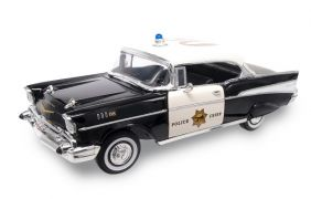 1/18 '57 CHEVY BEL AIR POLICE