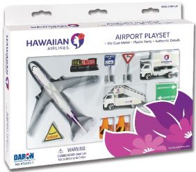 HAWAIIAN AIRLINES DIECAST PLAY