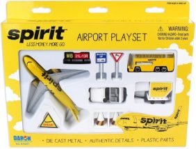 SPIRIT AIRLINES AIRPORT PLAYSE