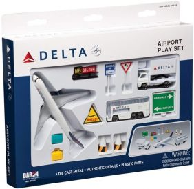 DELTA AIRLINES B767 PLAYSET 12