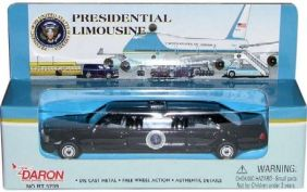 PRESIDENTIAL LIMOUSINE DIECAST