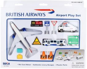 BRITISH AIRWAYS B787 PLAYSET #