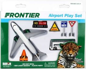FRONTIER AIRLINES 8-PIECE PLAY