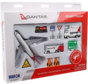 QANTAS AIRLINES DIECAST PLAYSE