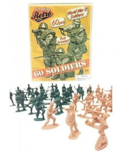 RETRO MINIATURE WWII SOLDIERS