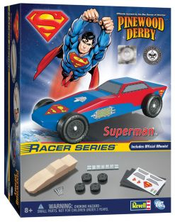 REVELL PINEWOOD DERBY SUPERMAN