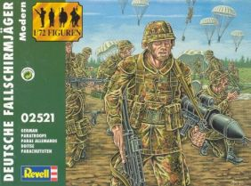(SALE)1/72 GERMAN PARATROOPERS