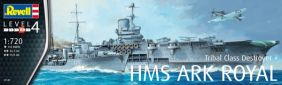 1/720 HMS ARK ROYAL & TRIBAL C