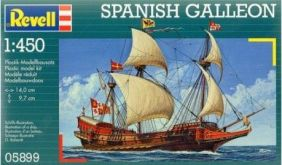 1/450 GALLEON SPANISH SAILING