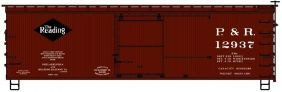 HO 36' WOOD BOXCAR PHILLY & RE