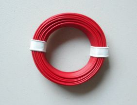 RED 22 GAUGE COPPER WIRE 32' #