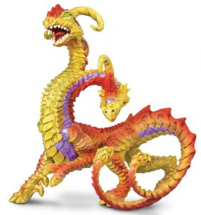 2-HEADED DRAGON FIGURE