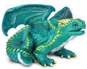 JUVENILE DRAGON FIGURE