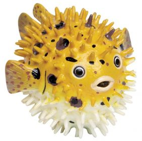 (SALE) PUFFER FISH FIGURE #250429 BY