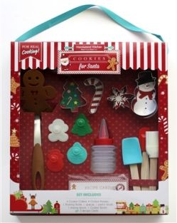COOKIES FOR SANTA BAKING SET #