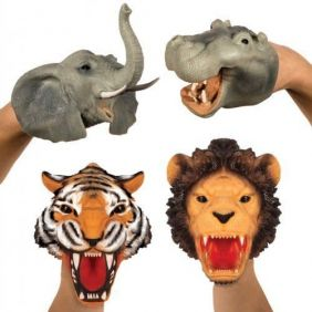 SAFARI STRETCHY HAND PUPPETS