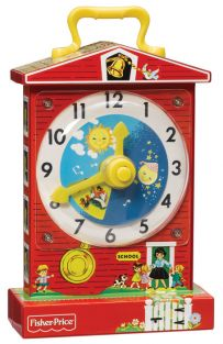 F/P MUSIC BOX TEACHING CLOCK