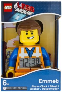 LEGO MOVIE EMMET ALARM CLOCK