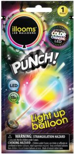 PUNCH! LIGHT UP LED BALLOON