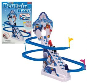 PLAYFUL PENGUIN RACE GAME