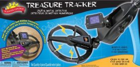 TREASURE TRACKER DIGITAL METAL DETECTOR #017000BL BY SCIENTIFIC EXPLORER