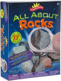 ALL ABOUT ROCKS SCIENCE KIT #02031 BY SCIENTIFIC EXPLORER