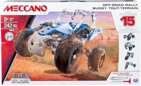 MECCANO OFF-ROAD RALLY 15 MODEL CONSTRUCTION SET #6028580