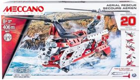 MECCANO AERIAL RESCUE 20 MODEL CONSTRUCTION SET #6028598