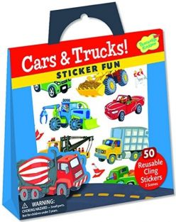 CARS & TRUCKS! STICKER FUN!