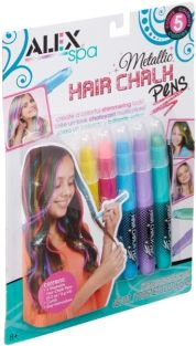 METALLIC HAIR CHALK PENS #238M