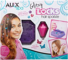 GLITZY LOCKS HAIR SPARKLE KIT