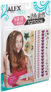 FAB FOIL HAIR & BODY TATTOOS #